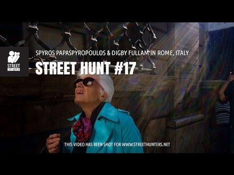 Street Photography - Street Hunt #17. Spyros Papaspyropoulos & Digby Fullam in Rome, Italy