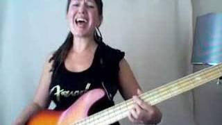 Lydia on bass 5