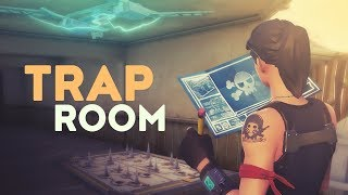 TRAP ROOM! (Fortnite Battle Royale)