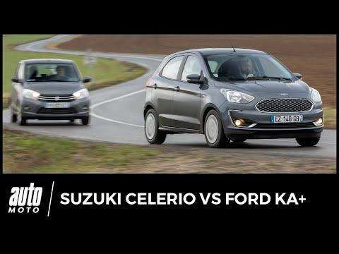 Ford Ka+ vs Suzuki Celerio - COMPARATIF : pouvoir d'achat