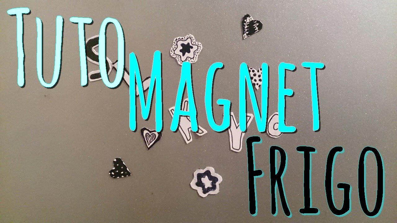 tuto magnet frigo youtube. Black Bedroom Furniture Sets. Home Design Ideas