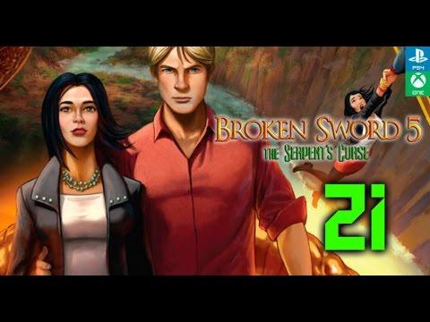 Broken Sword 5 La Maldición de la Serpiente Gameplay en español #21
