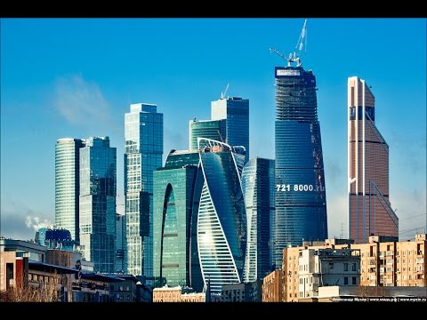 Moscow City- International Business Center- Москва-Сити