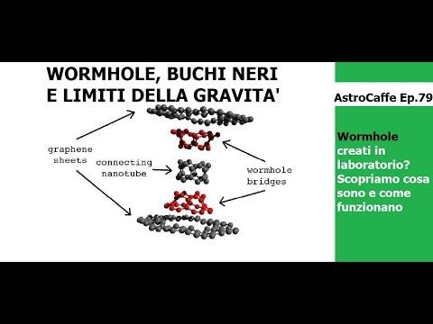 Cosa Sono i Wormhole? Sono Davvero Stati Creati? | AstroCaffe Ep.79