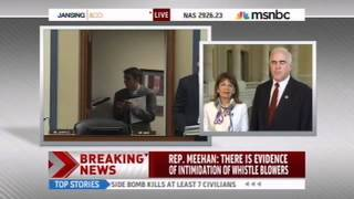 Meehan Discusses Holder Contempt Resolution, Fast and Furious with MSNBC
