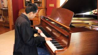 """A-HA - """"TAKE ON ME"""" - Piano Cover By Blind Piano Prodigy Kuha"""