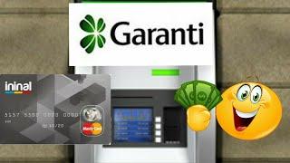 GARANTİ ATM'sinden İninal Karta Nasıl Para Yatırılır? 2018  w/Alperen