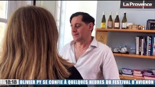 Olivier Py se confie à quelques heures du Festival d'Avignon