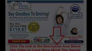 effective stop snoring | Say Goodbye To Snoring