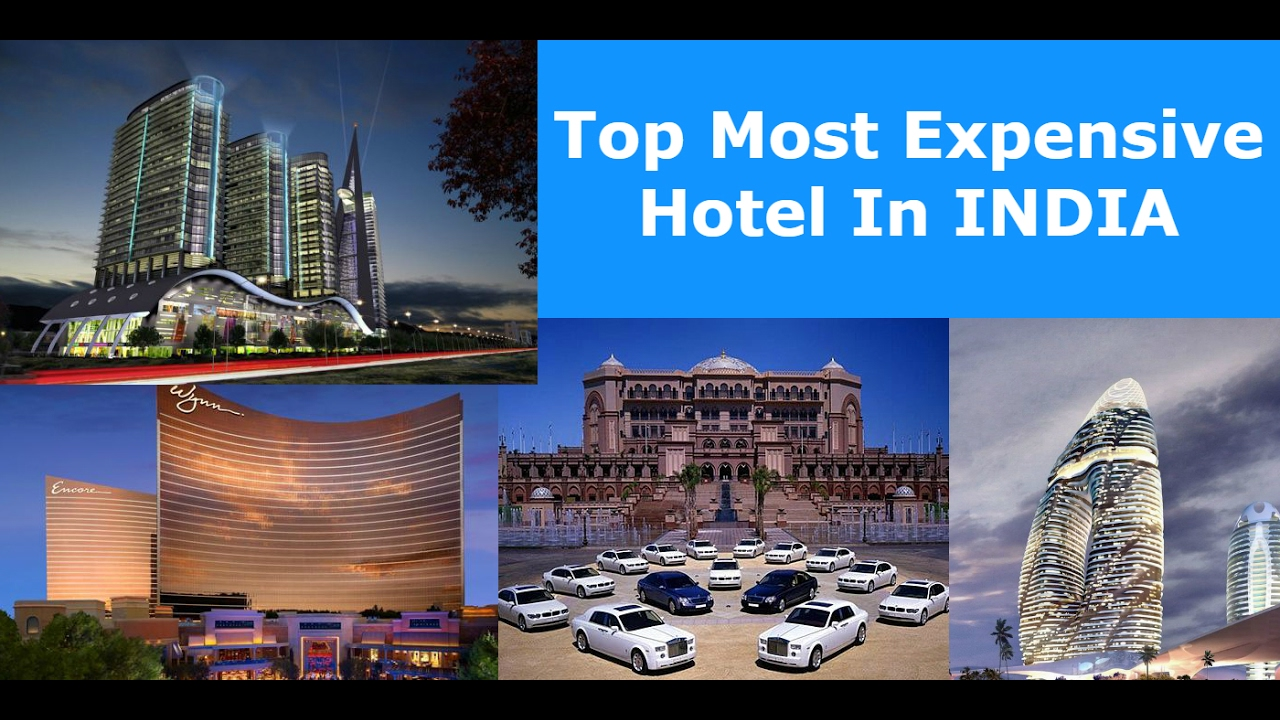 most expensive hotel in india - 2017 - youtube