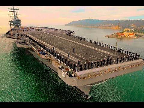 TOP 5 LARGEST AIRCRAFT CARRIERS in the World. TOP 5 LARGEST WARSHIPS.