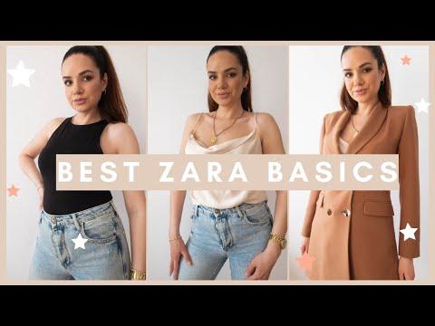 THE BEST ZARA BASICS & MUST-HAVES Summer 2020
