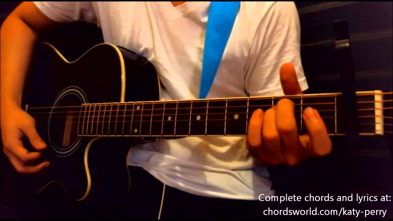 Firework Chords By Katy Perry How To Play Chordsworld Youtube