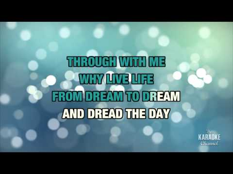 One Day I'll Fly Away in the style of Nicole Kidman | Karaoke with Lyrics