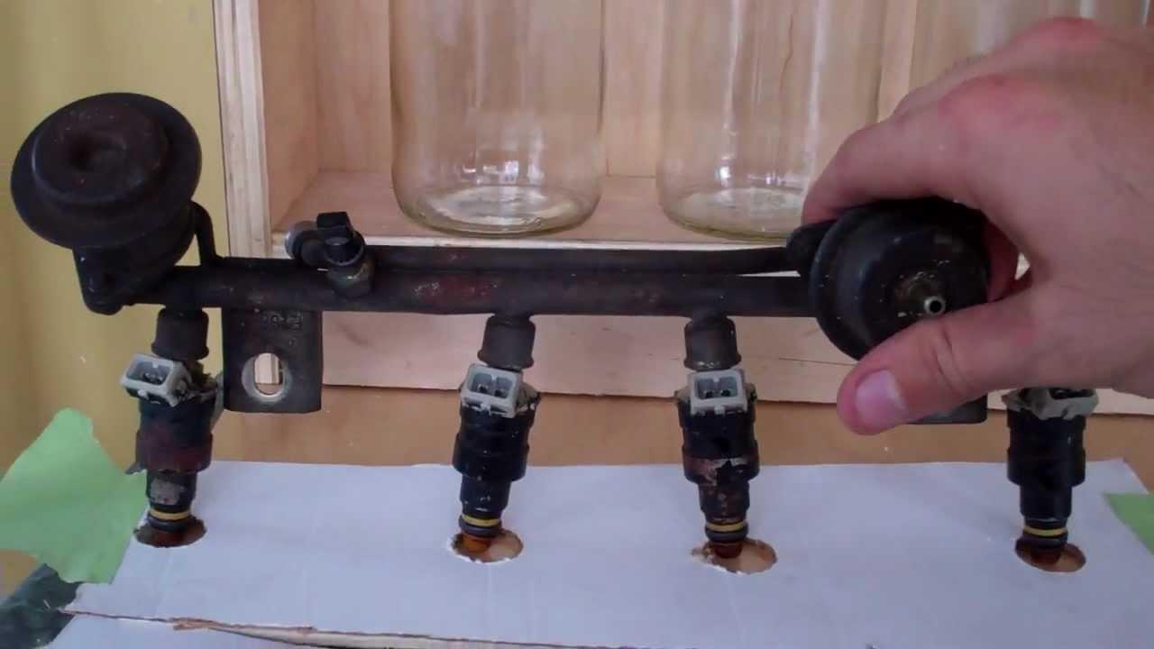 Diy Fuel Injector Flow Bench Tester 4 Injector Test Bank