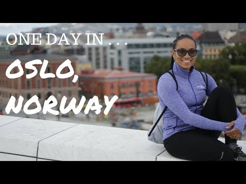 NORWAY TRAVEL VLOG (PART 2) - 24 HOURS IN OSLO | Sade Marie Diaz