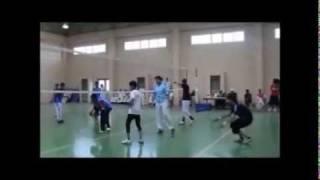 مبارة كرة الطائرة الثاني.wmv