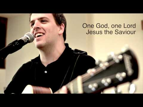 """United"" - Church Unity Worship Song By Dan Loewen (Lyric Video)"