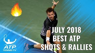 Top 15 Best ATP Tennis Shots & Rallies from July 2018