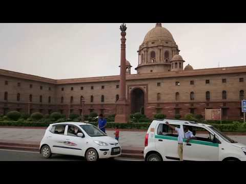 Government of India works from Raisina Hill in Lutyens' Delhi
