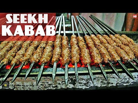 BBQ beef Seekh Kabab Dhaba Style by Chef food | reshmi kabab recipe in urdu