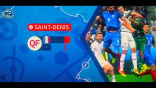 France's road to the final UEFA EURO 2016   All Goals   Final Portugal vs France 10 07 2016