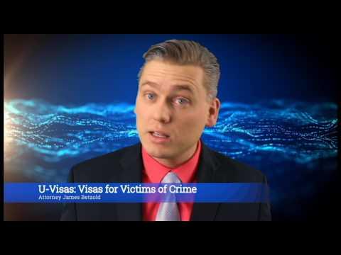 U-Visa: Visas for victims of crimes.