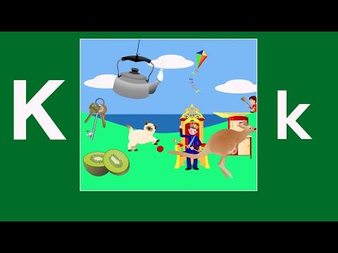 Alphabet Songs - The Letter K