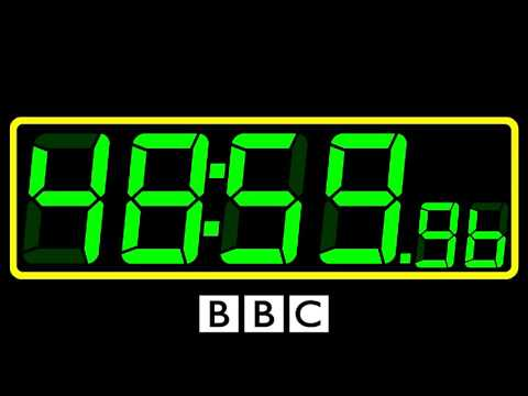 1 Hour (60 Minutes) Countdown (Digital Stopwatch Version , Remix BBC Countdown , 25FPS)
