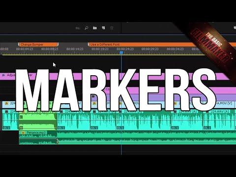 Premiere Pro Markers - Basics, Tips, and WTFs