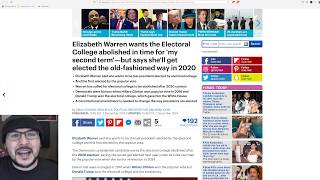 Elizabeth Warren Says She Will Abolish Electoral College, Republican Thinks Its A GREAT Idea