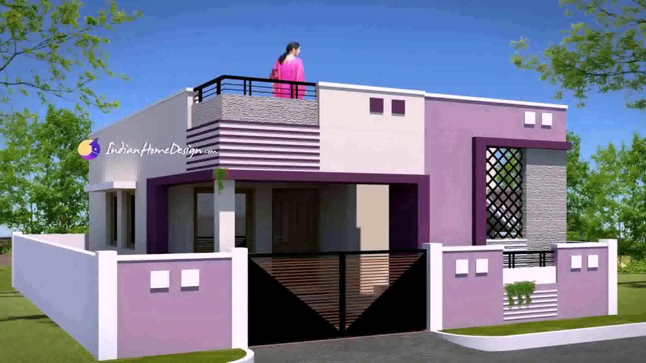 Indian Home Exterior Design Photos Lower Middle Class Youtube