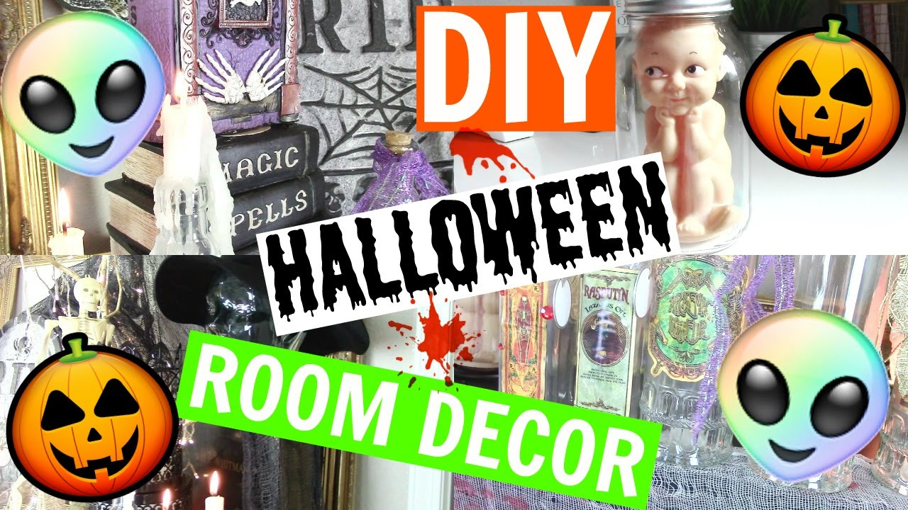 diy halloween room decor on a budget channon rose