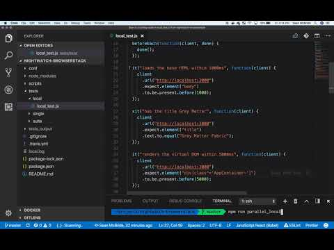 End To End Testing With Nightwatch.js And Browserstack
