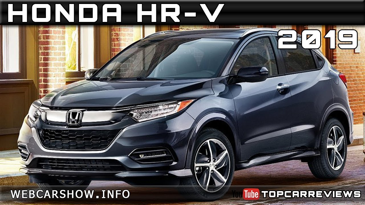 2019 honda hr-v review rendered price specs release date