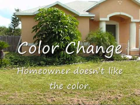 Stucco Exterior Paint Ideas exterior stucco painting - youtube