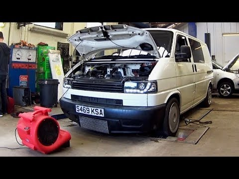 VW T4 1.8T - TURNING THE BOOST UP (292BHP)
