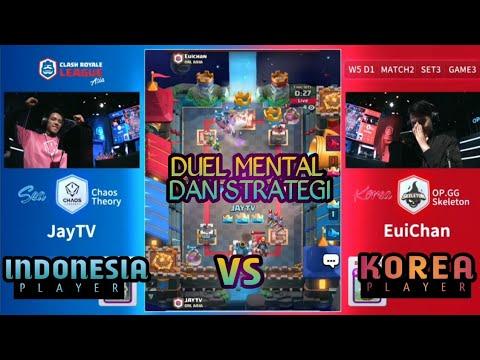 MATCH PERTAMA DI KOREA = COMEBACK ! ( JayTV ) Chaos Theory VS ( EuiChan ) OP.GG Skeleton - CRL Asia