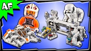 Lego Star Wars Assault on HOTH UCS 75098 Stop Motion Build Review