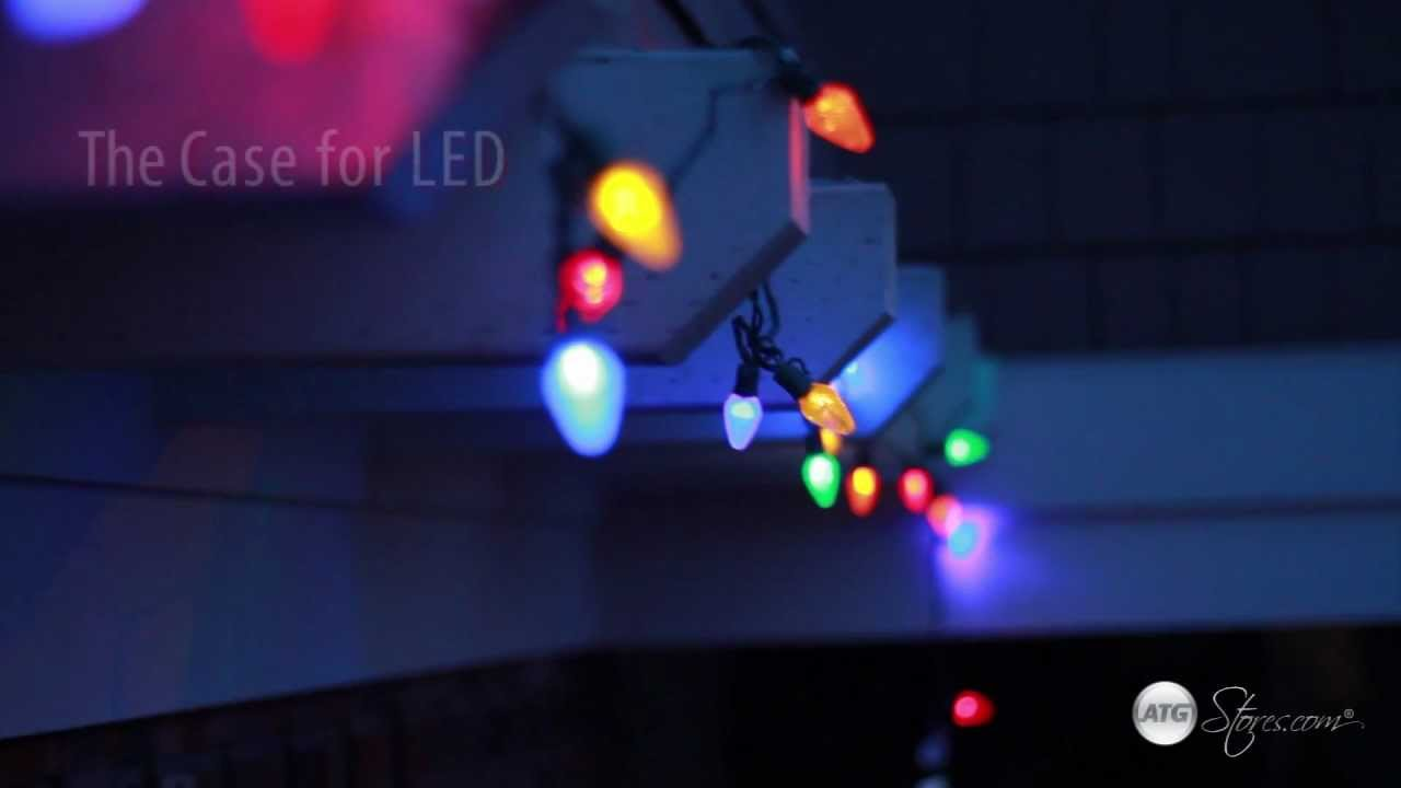 Christmas Lights Led Vs Incandescent