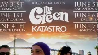 CLIP   ReggaeTV; THE GREEN w  music bed