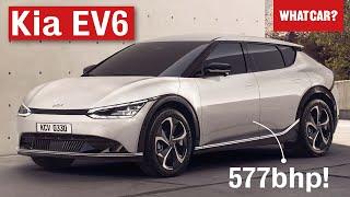 2021 Kia EV6 – better than the Hyundai Ioniq 5? | What Car?