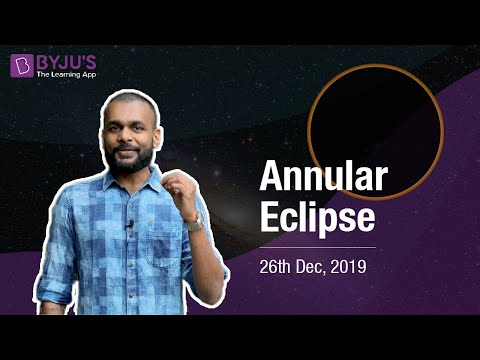 The Rare Annular Solar Eclipse 2019