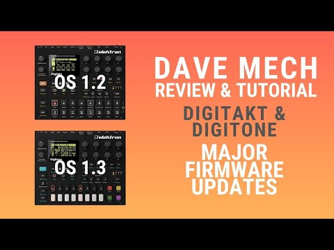 Digitakt & Digitone MAJOR Firmware updates!
