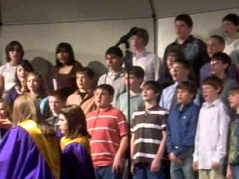 Cut Bank Middle School Choir