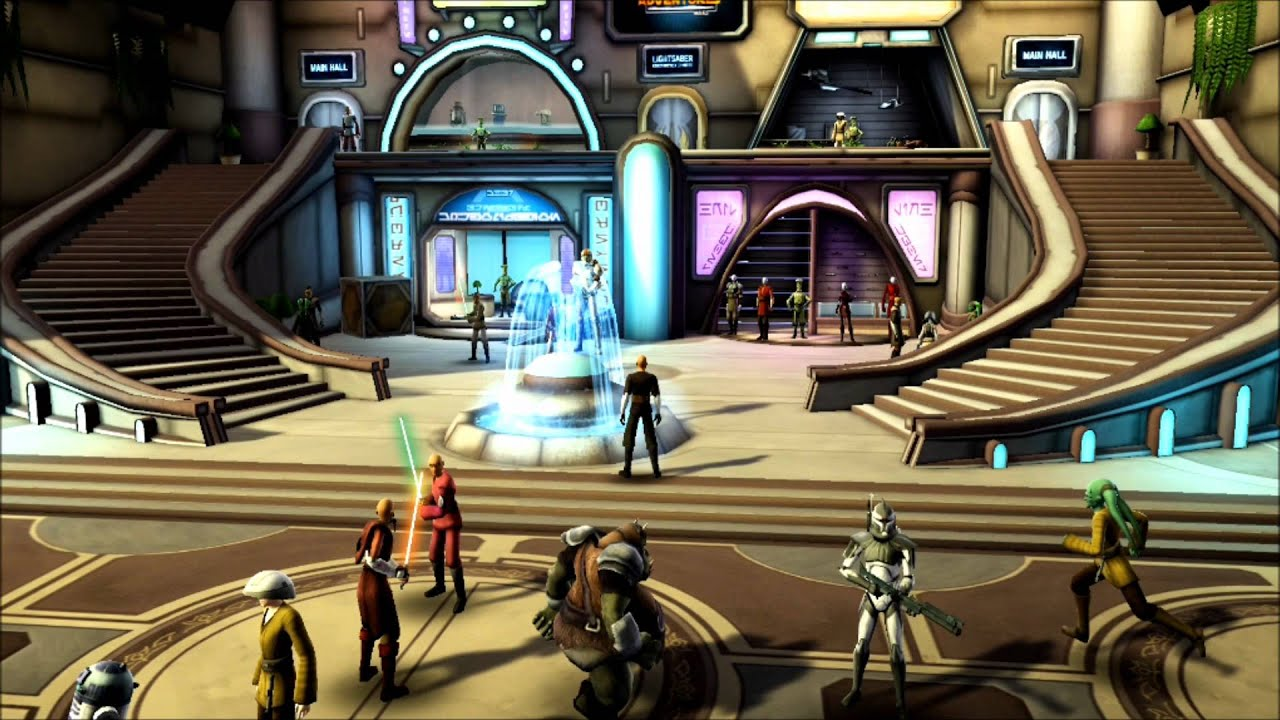 Clone Wars Adventures: Inside the Game: The Shops -Full HD ...