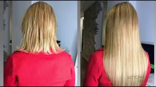Наращивание волос для нерешительной