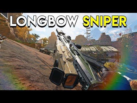 Longbow Sniper! - Apex Legends (Battle Royale)