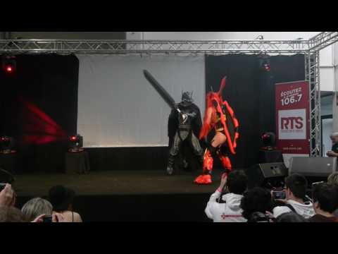 related image - Avignon Geek Expo 2017 - Concours Cosplay - 05 - Berserk - Fairy Tail