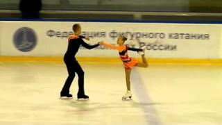 Сержантова-Маслов, пп, 1 этап Кубка России